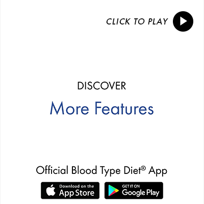 Blood Type Diet App Features