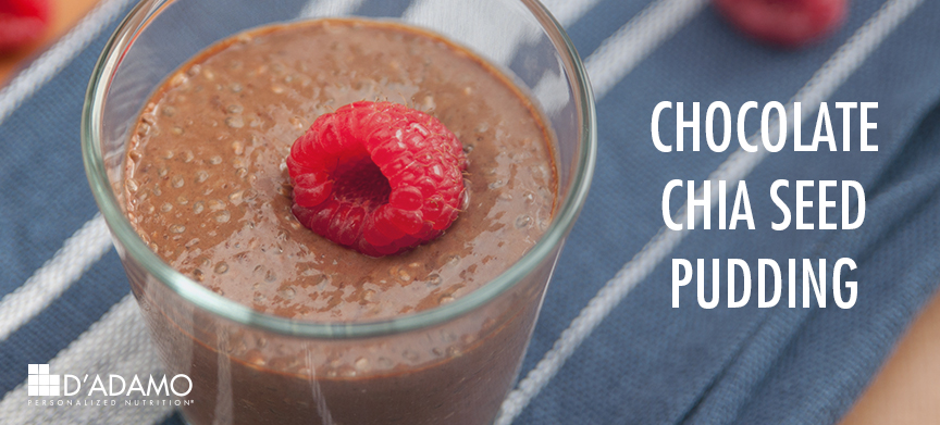 Chocolate Chia Seed Pudding