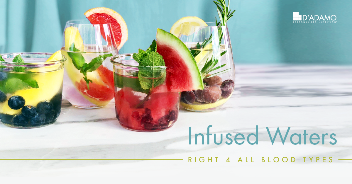 Infused Waters - Right 4 All Blood Types