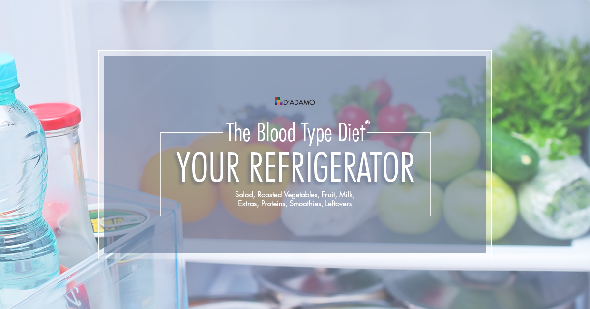 Your Refrigerator and The Blood Type Diet